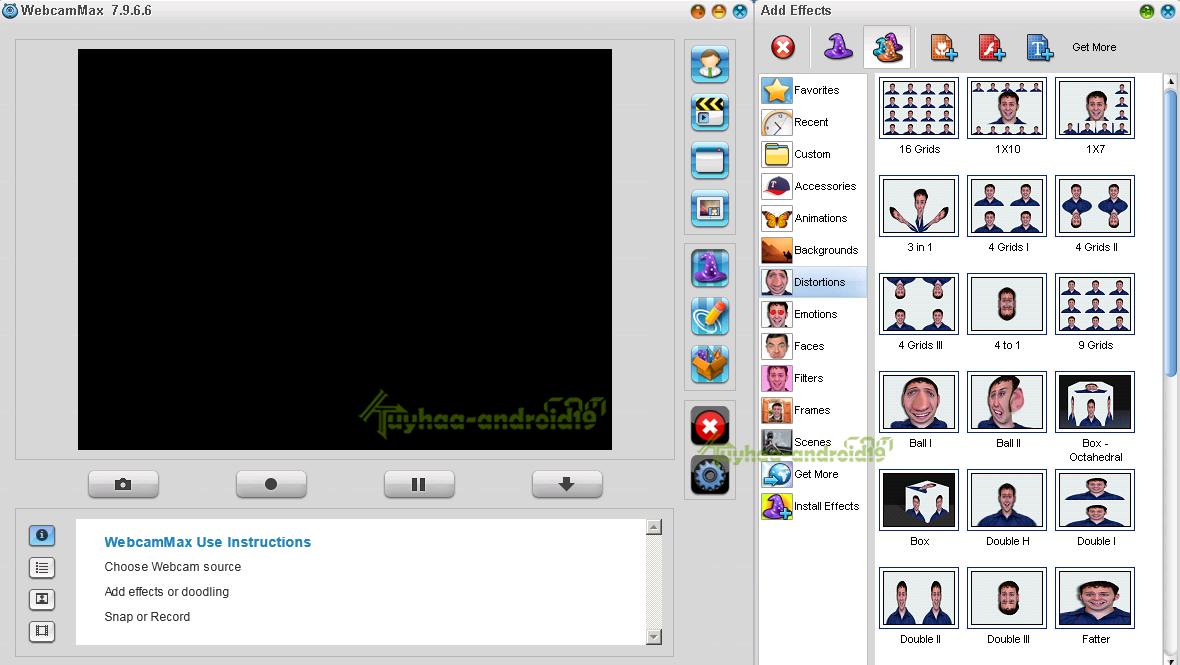 WebCamMax Full version
