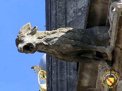 Toul - Cathédrale Saint-Etienne : Gargouille