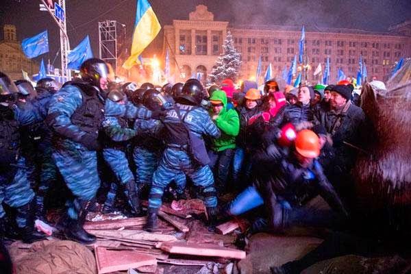 В Киеве состоялись траурные мероприятия по поводу годовщины расстрелов активистов Майдана