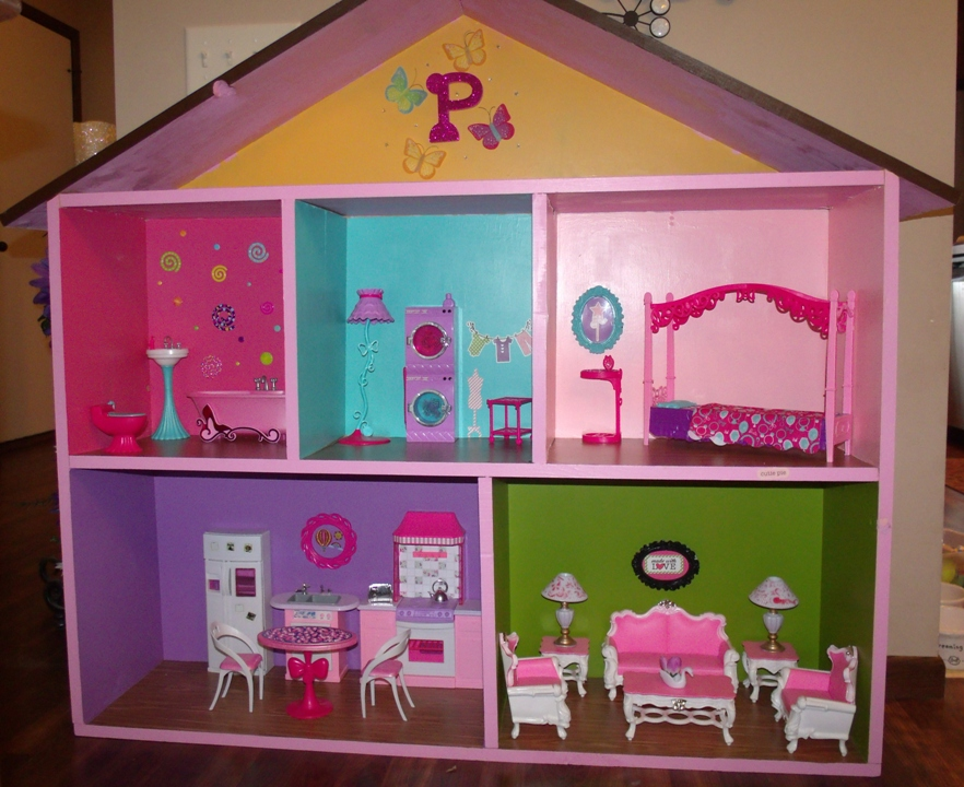 Everything In Between by Kelly  Tiffany Making Barbie Houses