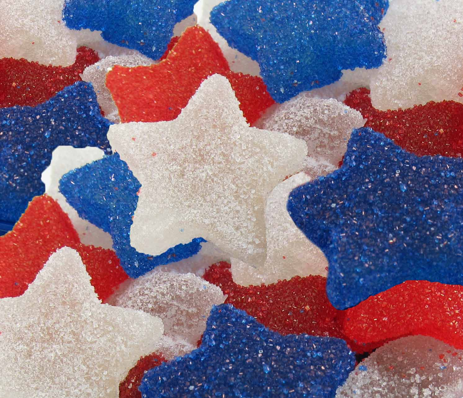 Red, White, and Blue Gumdrops made in your home kitchen ... - photo#12