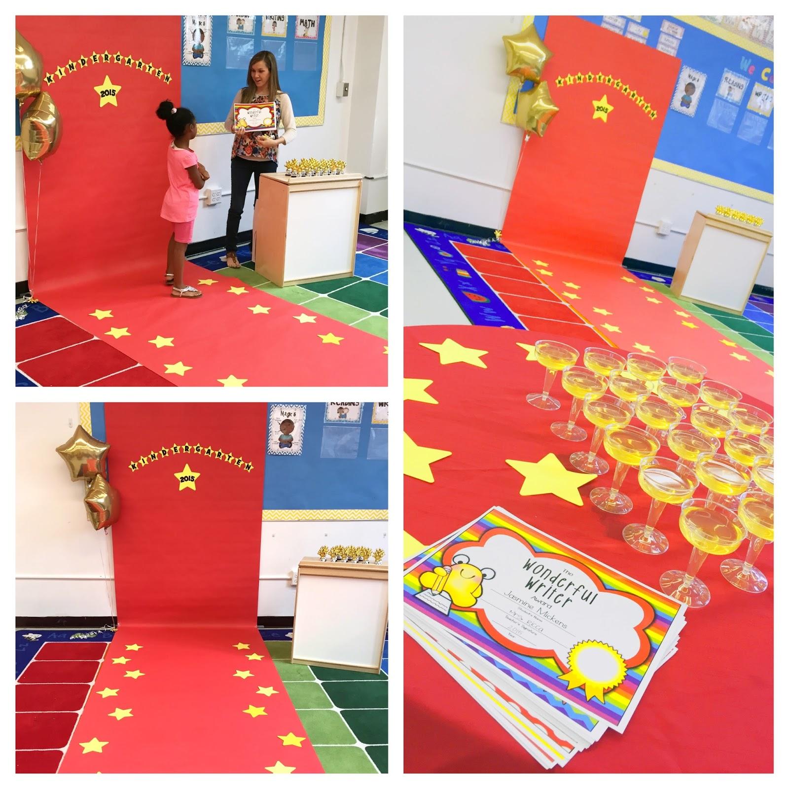Mrs ricca 39 s kindergarten i 39 m back and i 39 ve got big news - Kindergarten graduation decorations ...