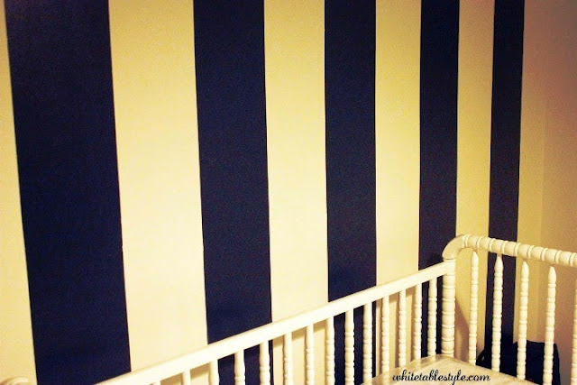 painting vertical stripes on wall ideas