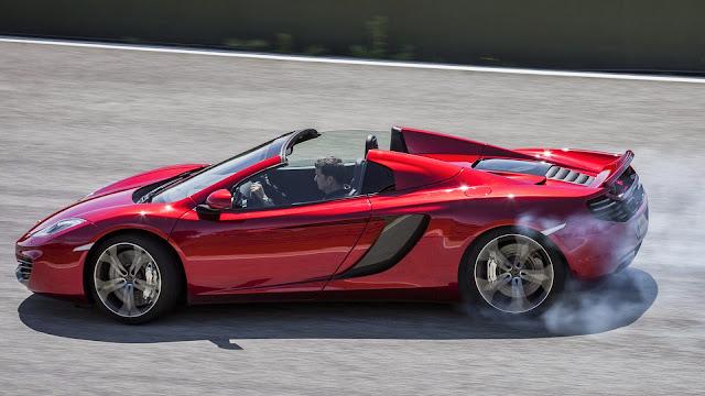 Fondo de Escritorio McLaren MP4-12c Rojo
