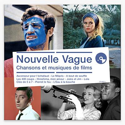 Nouvelle vague : chansons et musiques de films écoutez le cinéma