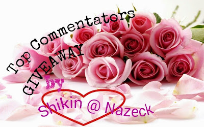 http://drshikinzainal.blogspot.com/2014/06/top-commentators-giveaway-by.html