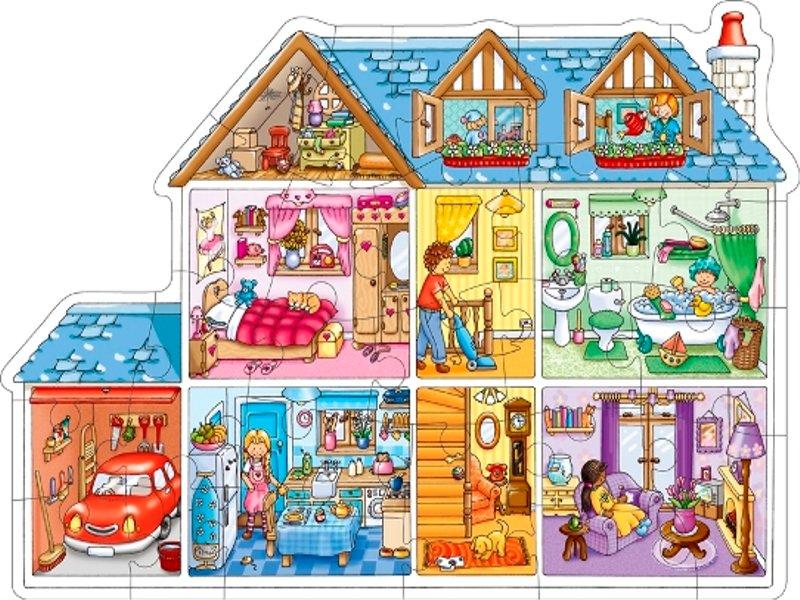 Espa ol para las primeras edades las partes de la casa for La casa progetta le foto interne