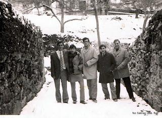 Candelario Salamanca nevada en Candelario