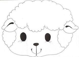Desenhos de ovelhas para colorir Painel Criativo