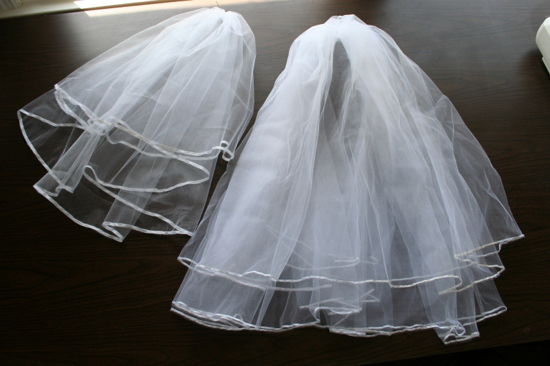 Make Wedding Veil Scratch