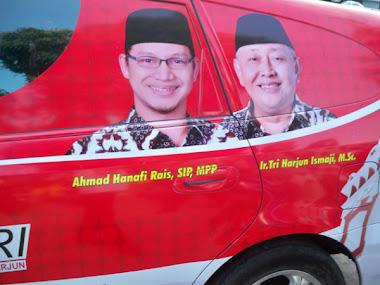 Vote Hanafi Rais-Tri hardjun, No 2,  PAN Yogyakarta, Ikang Fawzi Marissa Haque