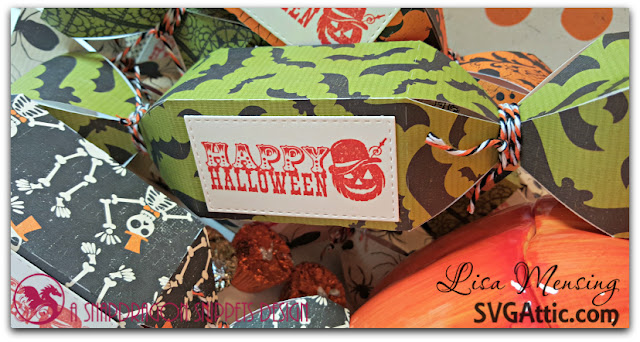 SVG Attic Sweet Shop Plain Truffle Box Halloween