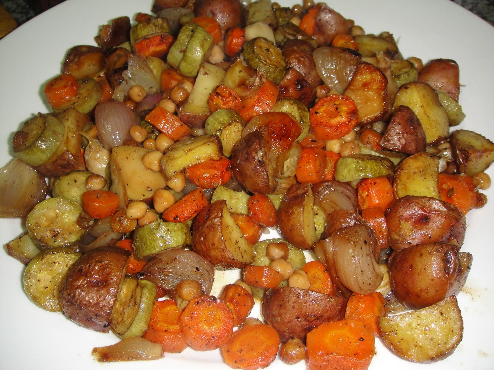 Maryam's Culinary Wonders: 209. Roasted Vegetables