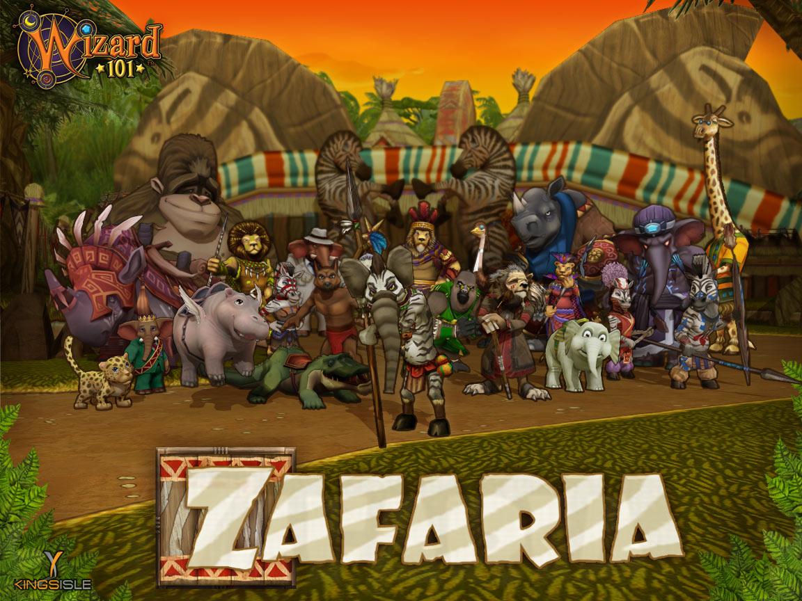 Safaria, el hogar de cebras y leones Zf