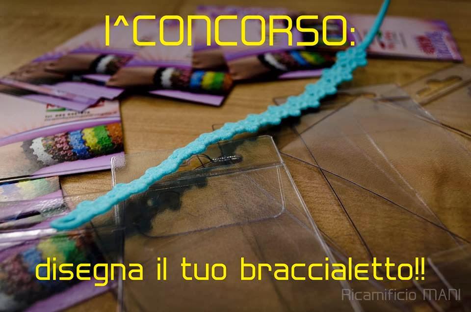 Partecipa al 1° concorso Disegna il tuo braccialetto Ricamificio MANI