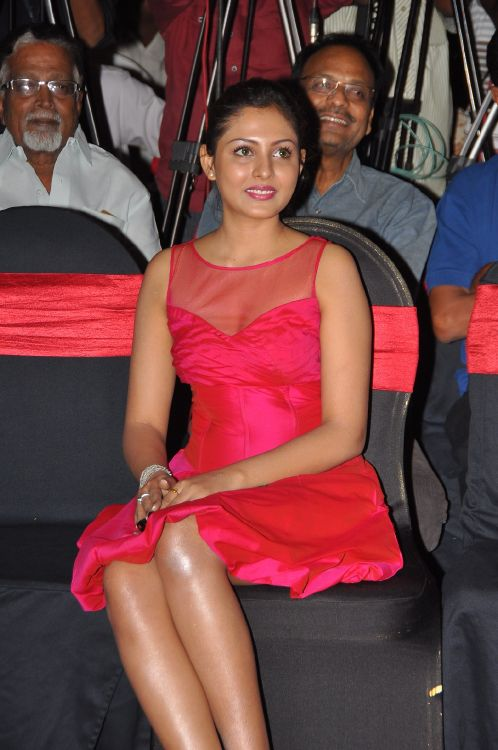 Madhu Shalini Hot Stills at Vadu Veedu Movie Audio Release Launch hot images
