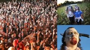 Dua Ribu 'Zombie' Gagal Pecahkan Rekor Dunia