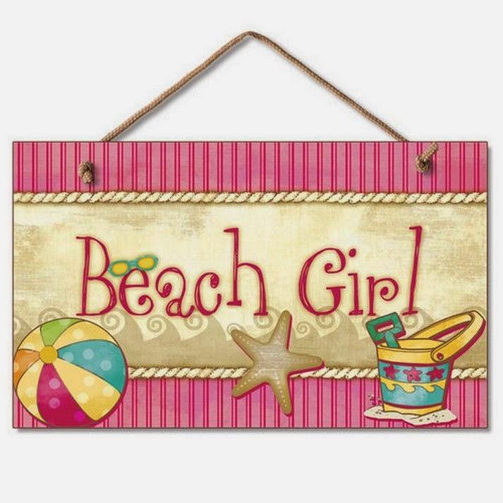 Outstanding Beach Signs Wall Decor Ornament - Art & Wall Decor ...