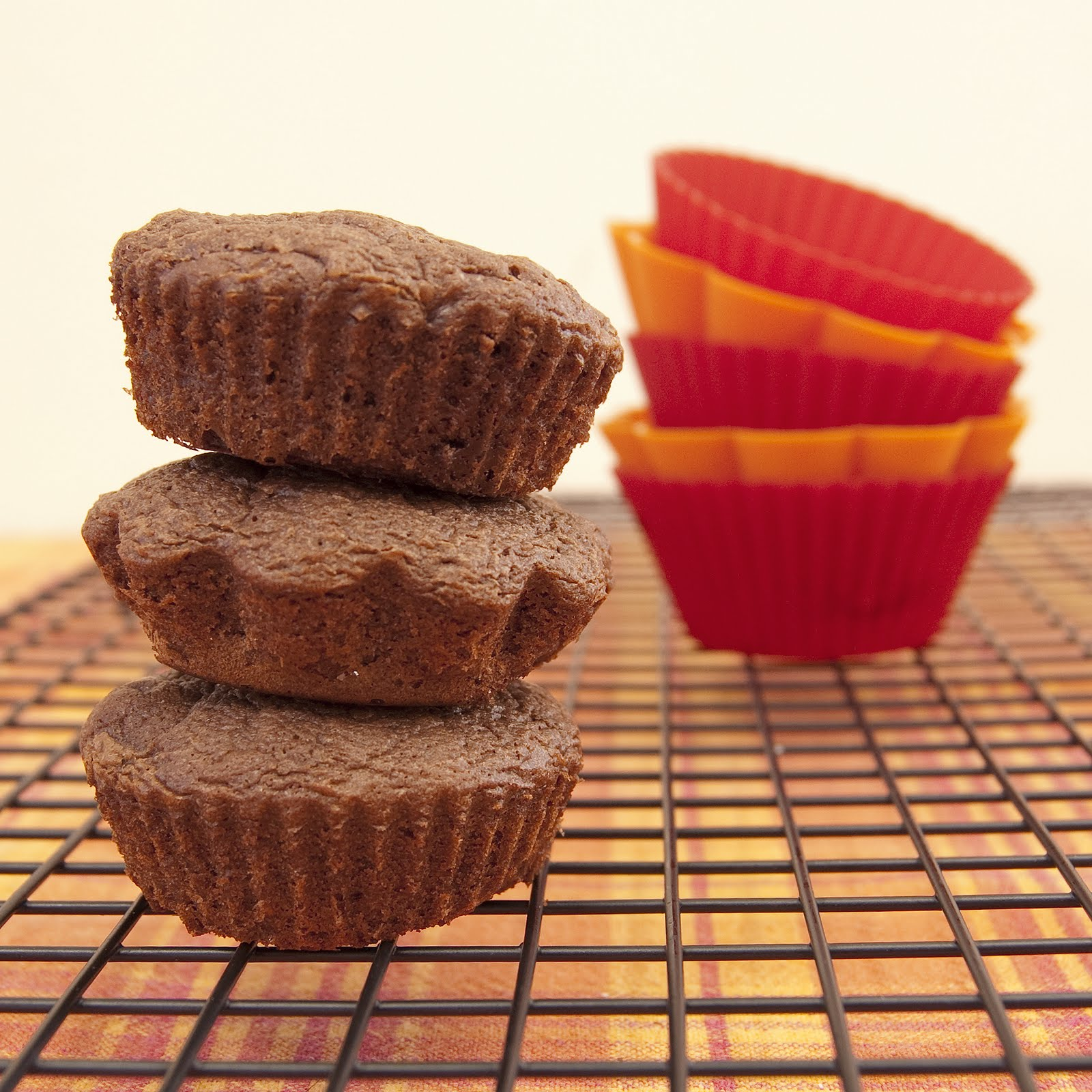 CaffeIna: Baking with Carla: Nutella Fudge Brownies