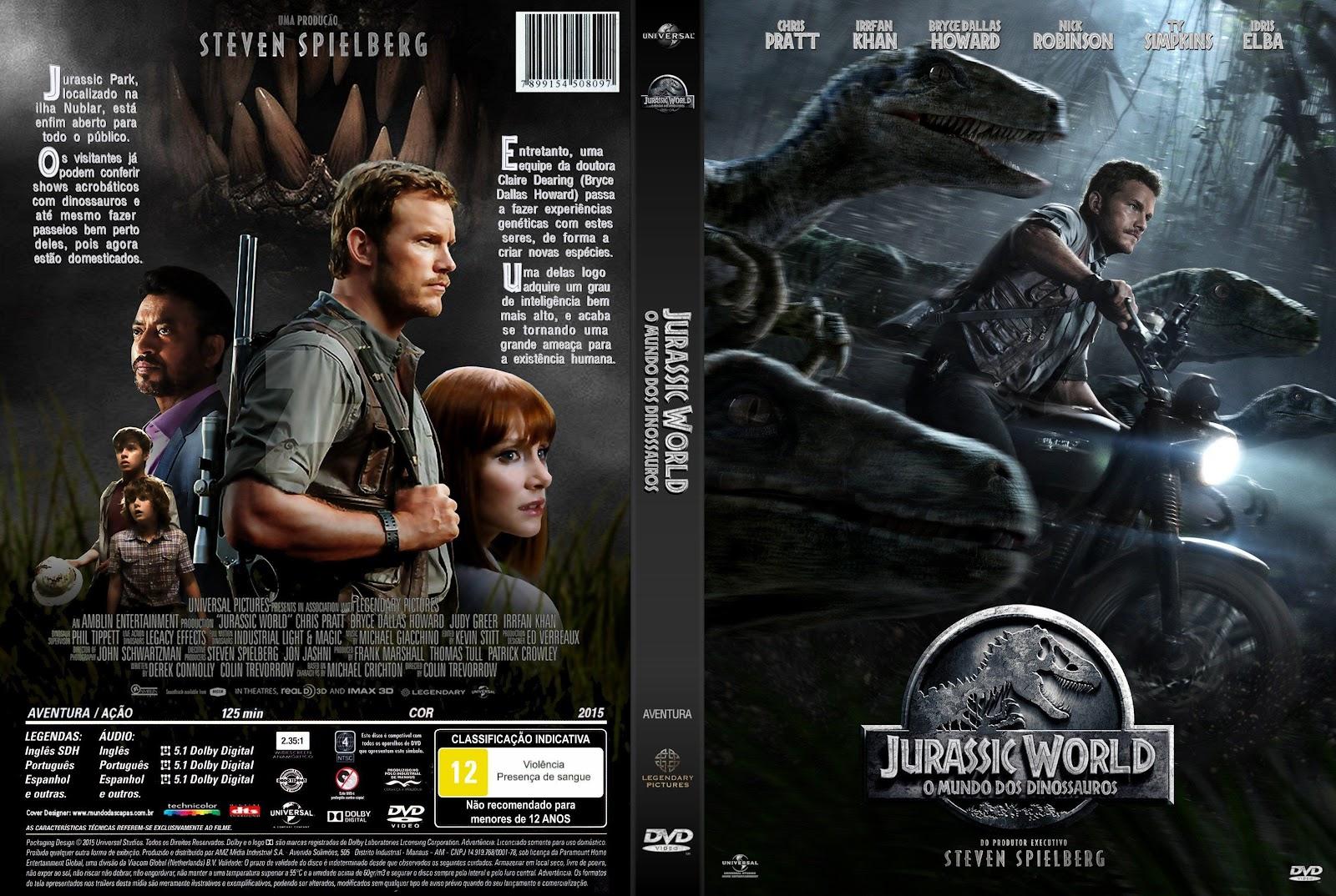 Download Jurassic World O Mundo dos Dinossauros DVD-R Jurassic 2BWorld 2B  2BO 2BMundo 2BDos 2BDinossauros