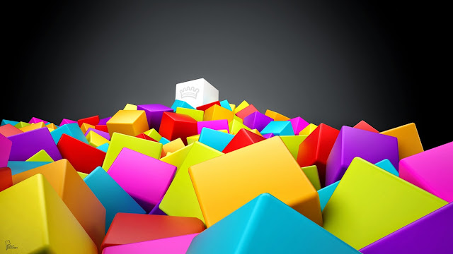 Abstract Squer 3D Colorful HD Wallpaperz ajqlso