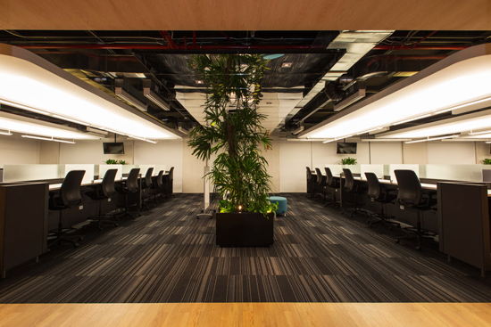 Podio axa quer taro back offices por serrano monjaraz for Axa oficinas