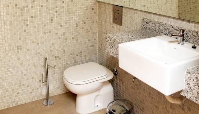 Camarote no Maracanã- banheiro