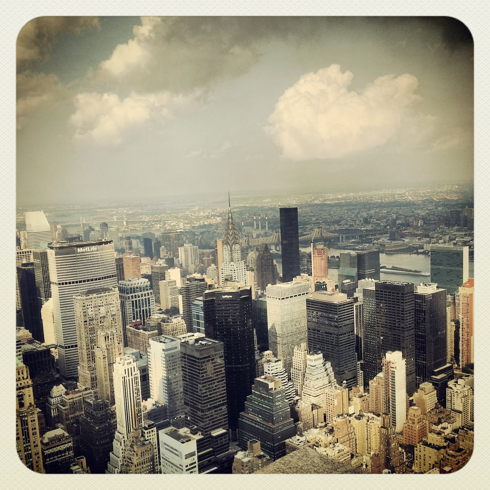 New York, view from Empire State Building