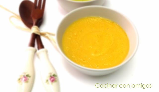 Crema de zanahoria cocinar con amigos for Cocinar zanahorias