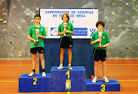 Podio infantil individual masculino 2013