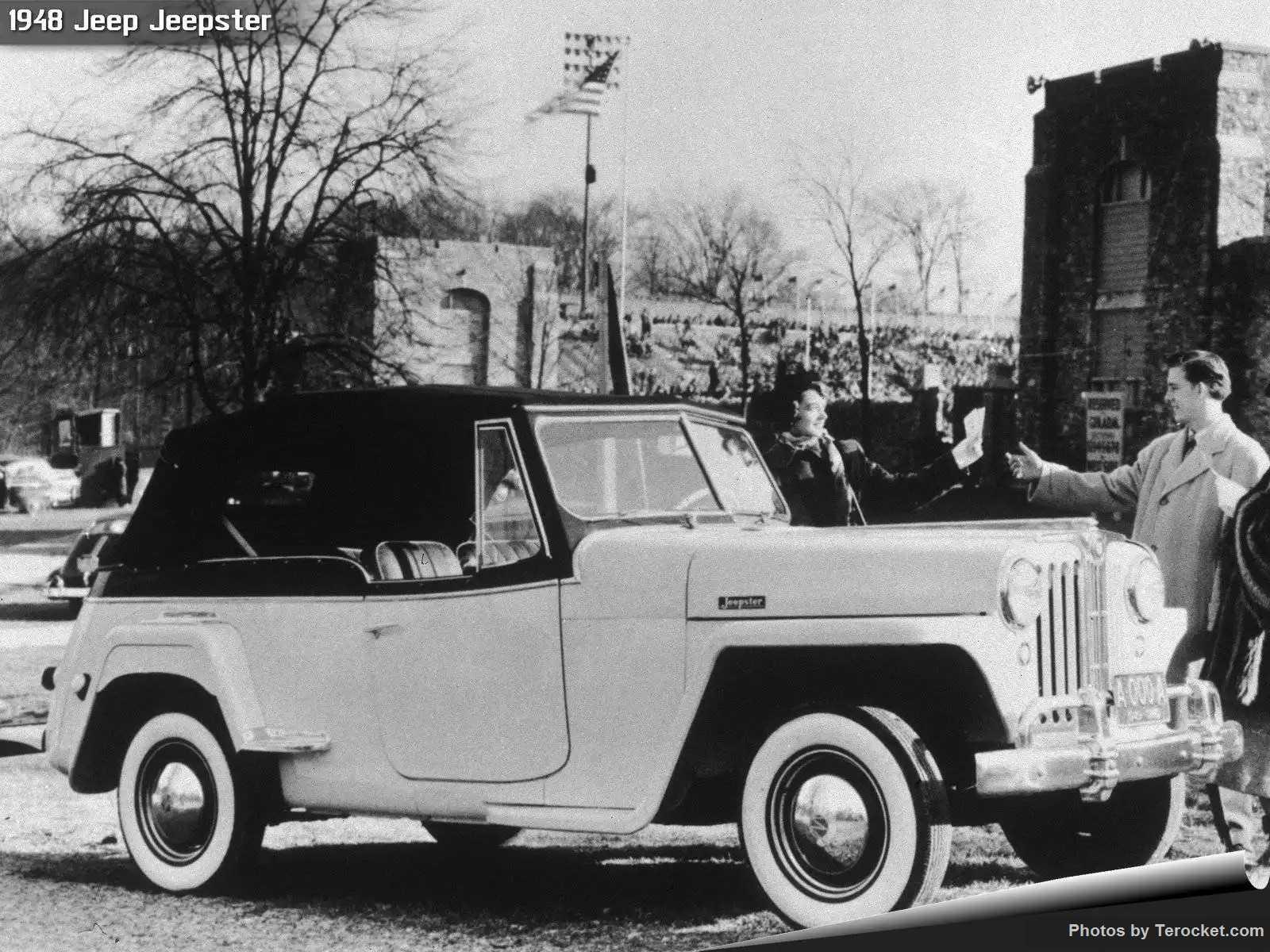 Hình ảnh xe ô tô Jeep Jeepster 1948 & nội ngoại thất