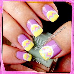 thatleanne easy easter egg nail art how to