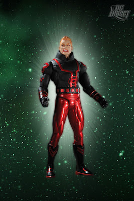 Green Lantern Series 4 by DC Direct - Red Lantern Guy Gardner Action Figure