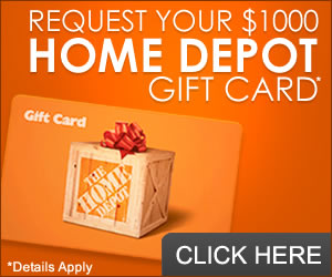 Get a gift card to spend at Home Depot