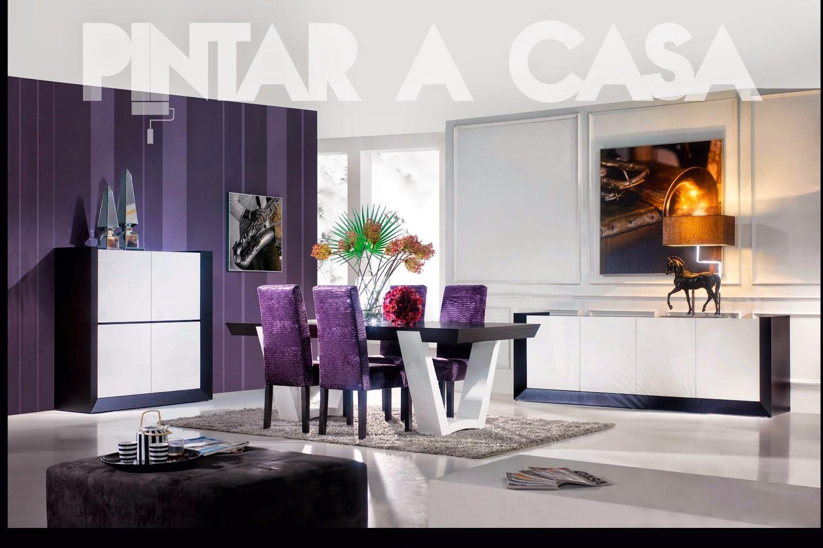 decoração-sala-pintar-a-casa-cadeiras-móveis
