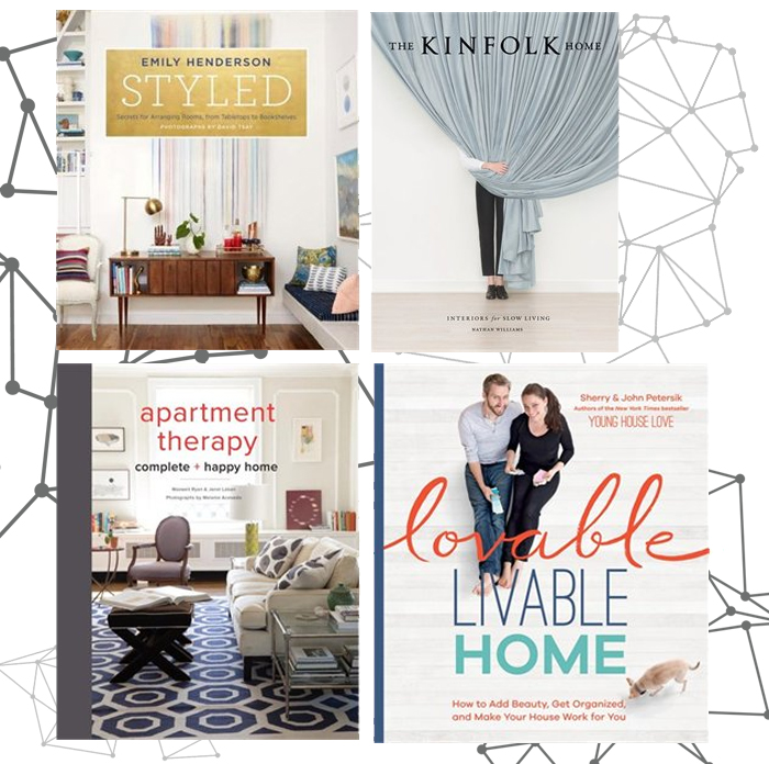 ashley minnings: 4 fab home decor books