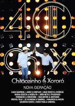 DVD - Chitãozinho e Xororó - 40 Anos Nova Geração