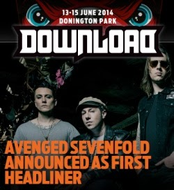 Avenged Sevenfold y Rob Zombie al Download Festival 2014