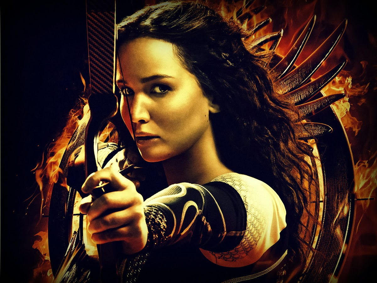 The Hunger Games Catching Fire New Katniss Wallpapers ...