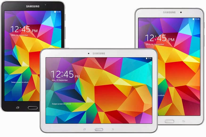 Samsung Android Tab 4 Specifications