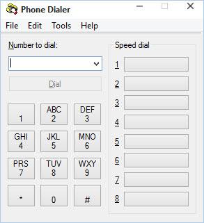 விண்டோஸ் Phone Dialer