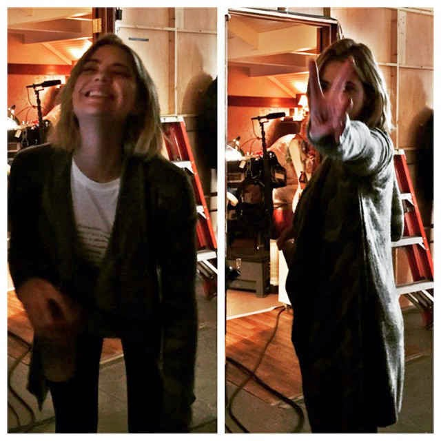 Ashley Benson BTS PLL Season 6