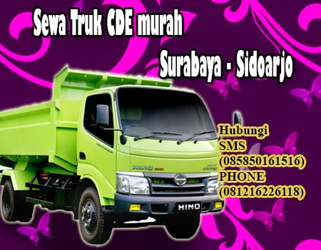 Sewa Truk CDE murah Surabaya - Sidoarjo