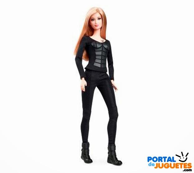 muñeca barbie tris divergente