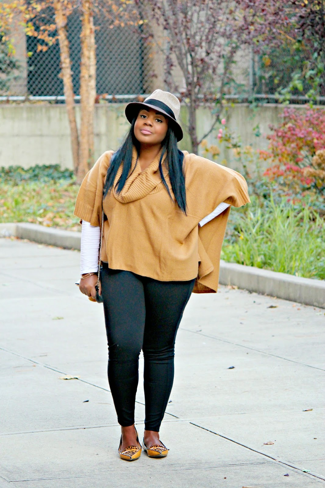 how to style a poncho