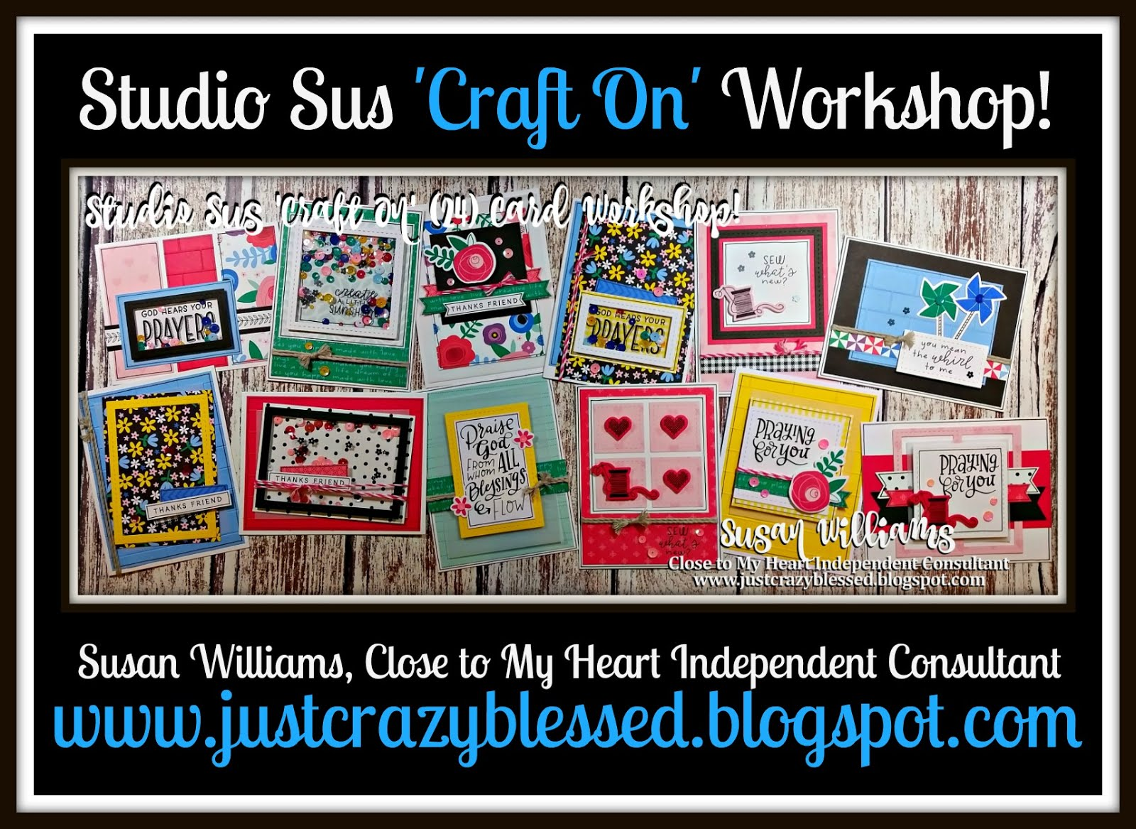 'Craft On' Cardmaking Workshop!