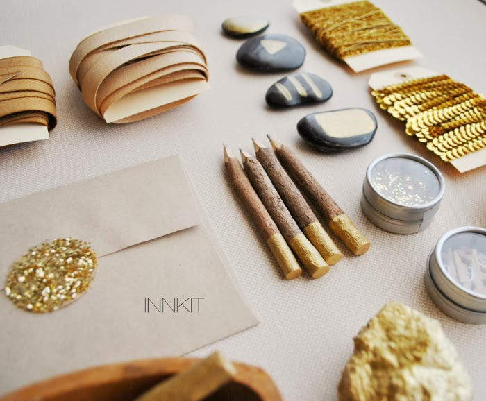 INKKIT gold decoration