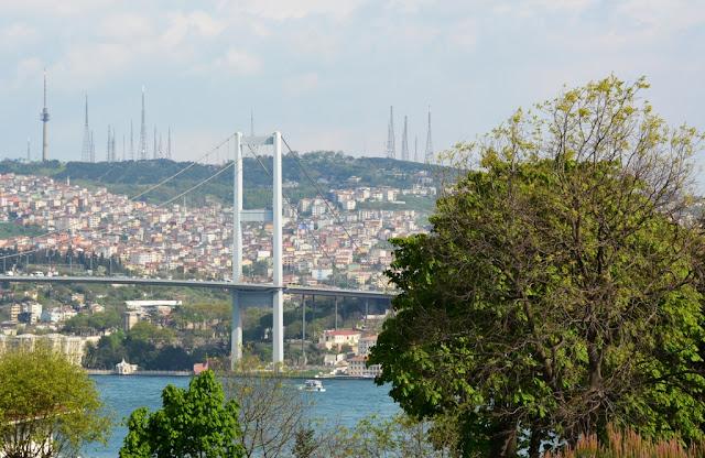 Yildiz Park Istanbul - Bosporus Bridge
