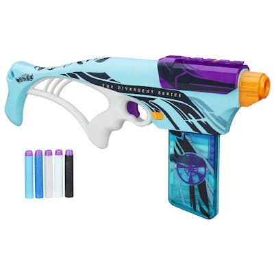 TOYS : JUGUETES - Nerf Rebelle : The Divergent Series  Allegiant   Pistola Lanzadardos - Blaster  Producto Oficial Película 2016   Hasbro B6603   A partir de 8 años  Comprar Amazon España