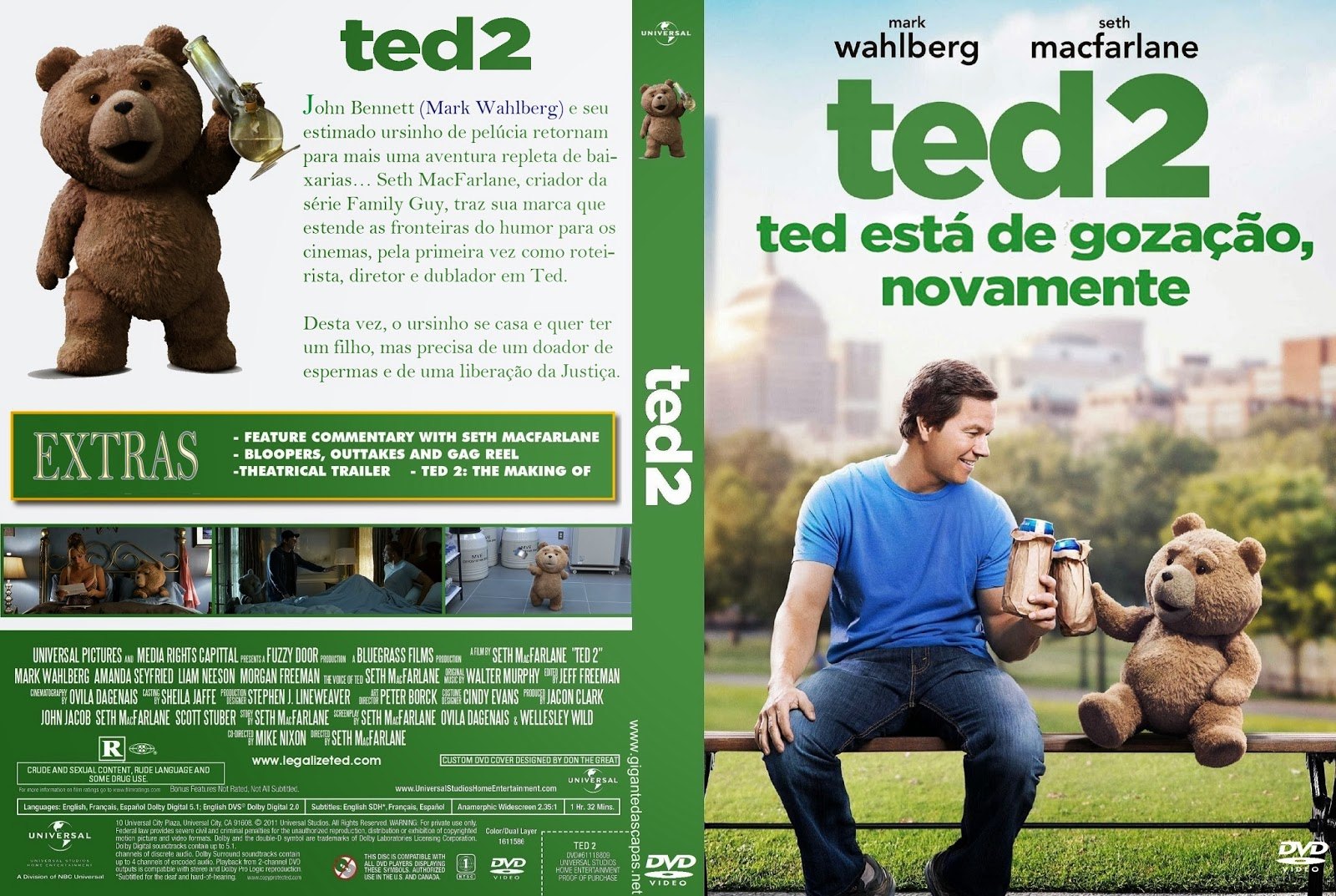 Download Ted 2 DVD-R Ted 2B2